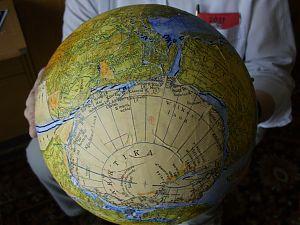 Antarktis vor 2 Mrd. Jahren zusammen mit den anderen Kontinenten