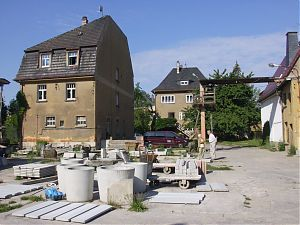 Betriebshof von Vogel-Beton in Werdau