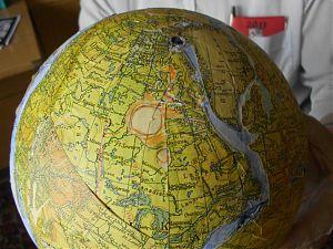 Nordamerika zusammen mit Grönland