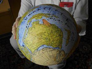 Ur-Pazifik, Australien und Antarktis fast zusammen